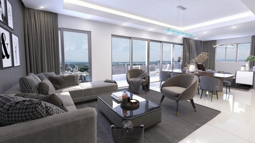 Apartamento Santiago de los Caballeros>Santiago>Santiago de los Caballeros - Venta:332.408 Dolares - codigo: 21-1727