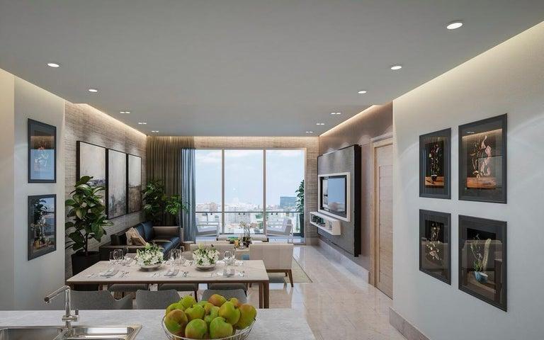 Apartamento Santo Domingo>Distrito Nacional>Paraiso - Venta:253.300 Dolares - codigo: 21-1825