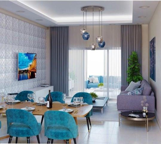 Apartamento Santo Domingo>Distrito Nacional>Bella Vista - Venta:125.400 Dolares - codigo: 21-1853