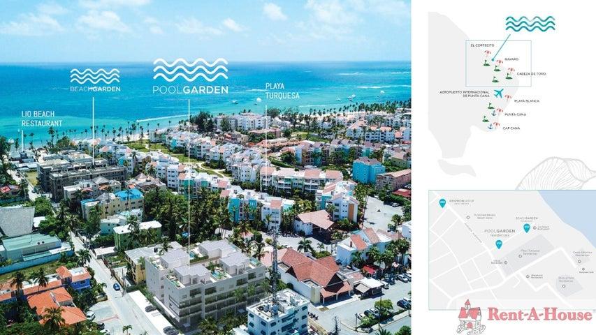 Apartamento La Altagracia>Punta Cana>Bavaro - Venta:195.000 Dolares - codigo: 21-1894