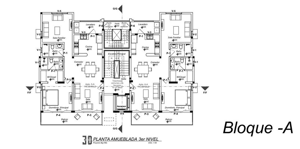 Apartamento Puerto Plata>Puerto Plata>Cabarete - Venta:183.000 Dolares - codigo: 21-1960