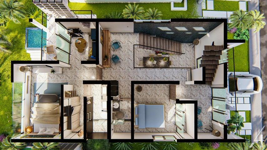 Casa La Altagracia>Punta Cana>Bavaro - Venta:175.000 Dolares - codigo: 21-2215