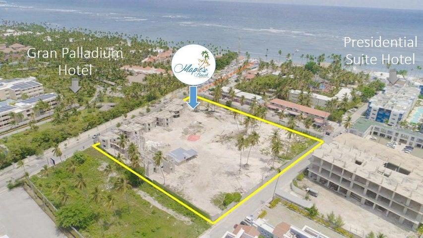 Apartamento La Altagracia>Punta Cana>Bavaro - Venta:221.500 Dolares - codigo: 21-2253