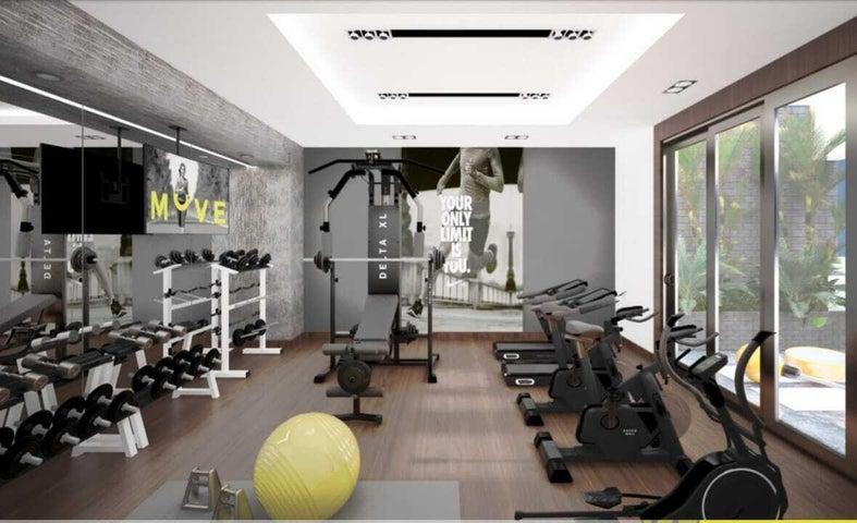Apartamento Santo Domingo>Distrito Nacional>Serralles - Venta:117.500 Dolares - codigo: 21-1708