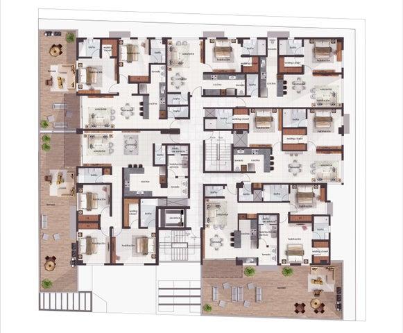 Apartamento Santo Domingo>Distrito Nacional>Zona Universitaria - Venta:105.105 Dolares - codigo: 21-2399