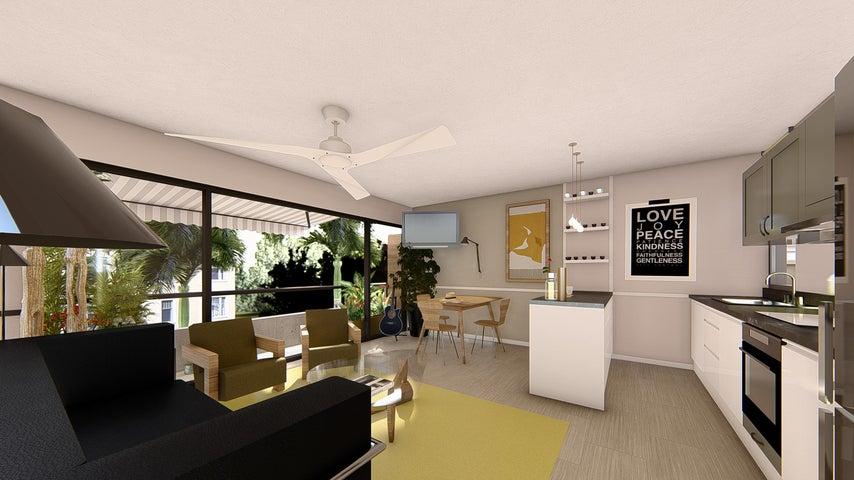 Apartamento La Altagracia>Punta Cana>Veron-Punta Cana - Venta:39.500 Dolares - codigo: 21-2481