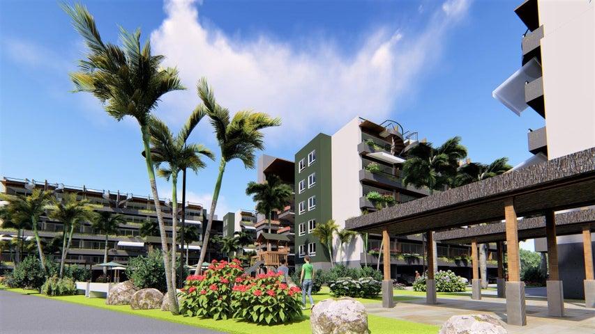 Apartamento La Altagracia>Punta Cana>Veron-Punta Cana - Venta:57.000 Dolares - codigo: 21-2482