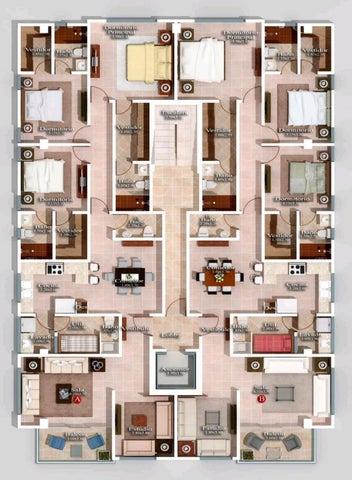 Apartamento Santo Domingo>Distrito Nacional>Los Restauradores - Venta:170.000 Dolares - codigo: 21-2722
