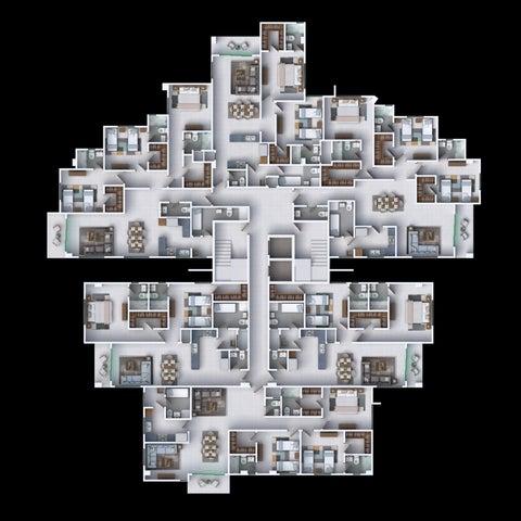 Apartamento Santo Domingo>Distrito Nacional>Los Restauradores - Venta:165.400 Dolares - codigo: 21-2756