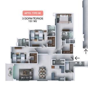 Apartamento Santo Domingo>Distrito Nacional>Los Restauradores - Venta:166.100 Dolares - codigo: 21-2761