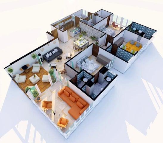 Apartamento Santo Domingo>Santo domingo Este>Ozama - Venta:295.000 Dolares - codigo: 21-2775
