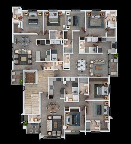 Apartamento Santo Domingo>Distrito Nacional>El Millon - Venta:262.000 Dolares - codigo: 21-2851