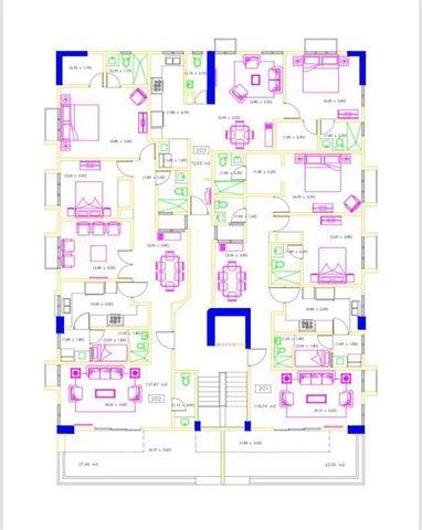 Apartamento Santo Domingo>Distrito Nacional>Los Prados - Venta:160.176 Dolares - codigo: 21-2866
