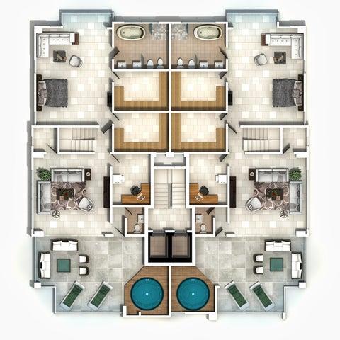 Apartamento Santo Domingo>Distrito Nacional>Paraiso - Venta:408.000 Dolares - codigo: 21-2878