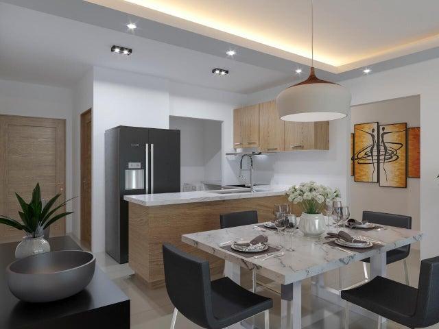 Apartamento Santo Domingo>Santo domingo Este>Alma Rosa I - Venta:72.968 Dolares - codigo: 21-2886