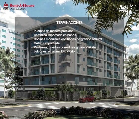 Apartamento Santo Domingo>Distrito Nacional>Gazcue - Venta:210.500 Dolares - codigo: 21-572