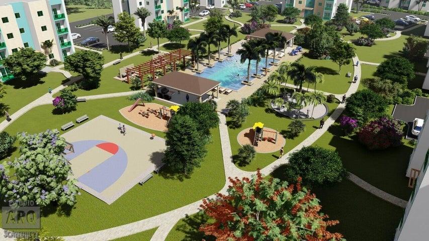 Apartamento La Altagracia>Punta Cana>Veron-Punta Cana - Venta:79.000 Dolares - codigo: 21-2947