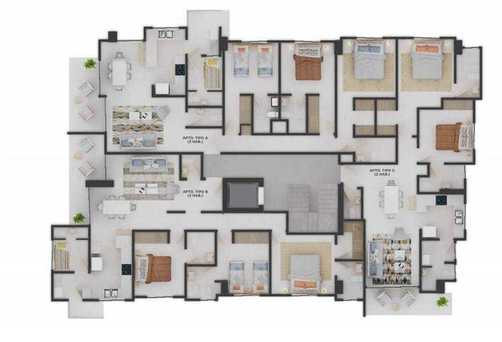 Apartamento Santo Domingo>Distrito Nacional>Bella Vista - Venta:116.000 Dolares - codigo: 21-3092