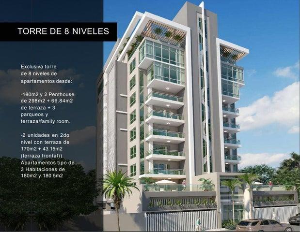 Apartamento Santo Domingo>Santo domingo Este>Alma Rosa I - Venta:192.960 Dolares - codigo: 21-3107