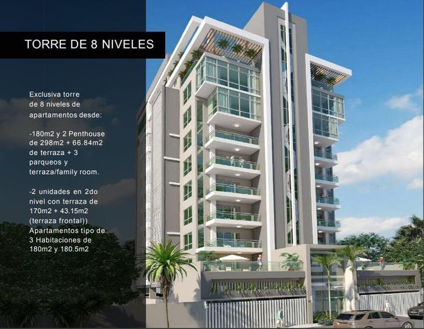 Apartamento Santo Domingo>Santo domingo Este>Alma Rosa I - Venta:331.017 Dolares - codigo: 21-3108