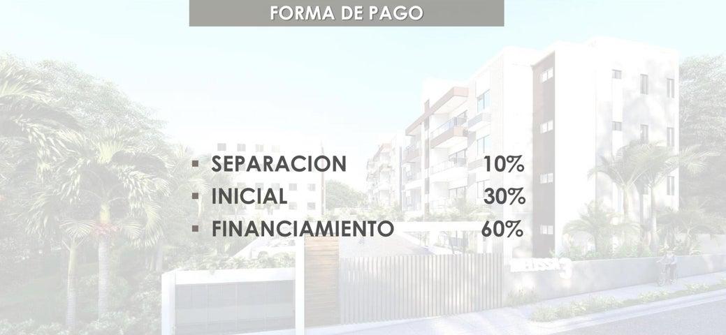 Apartamento Santo Domingo>Distrito Nacional>Altos de Arroyo Hondo - Venta:57.540 Dolares - codigo: 21-3188