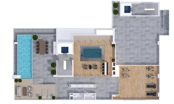 Apartamento Santo Domingo>Distrito Nacional>Naco - Venta:396.500 Dolares - codigo: 21-3245