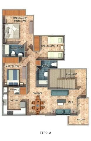 Apartamento Santo Domingo>Santo domingo Este>Tropical del Este - Venta:4.060.000 Pesos - codigo: 21-3269