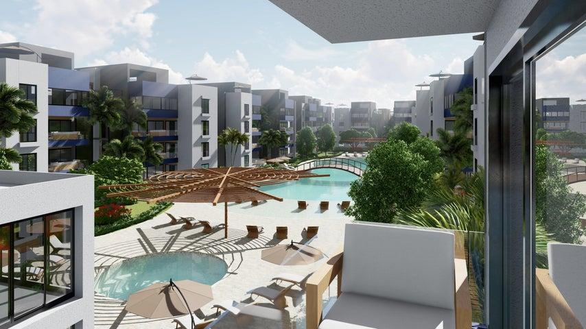 Apartamento La Altagracia>Punta Cana>Punta Cana - Venta:127.392 Dolares - codigo: 22-91