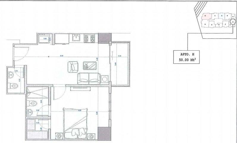 Apartamento Santo Domingo>Distrito Nacional>Bella Vista - Venta:112.000 Dolares - codigo: 22-223