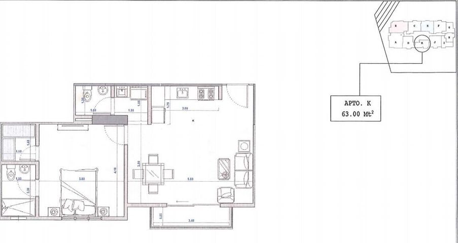 Apartamento Santo Domingo>Distrito Nacional>Bella Vista - Venta:135.000 Dolares - codigo: 22-226