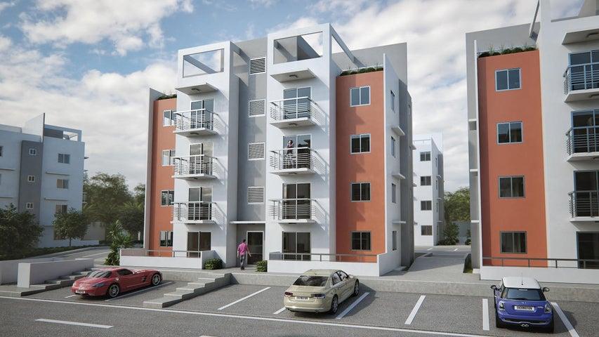 Apartamento Santo Domingo>Santo Domingo Norte>Villa Mella - Venta:3.199.000 Pesos - codigo: 22-258