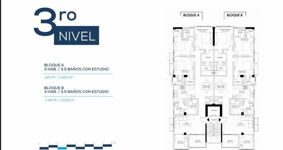 Apartamento Santo Domingo>Distrito Nacional>Urbanizacion Real - Venta:208.000 Dolares - codigo: 22-298