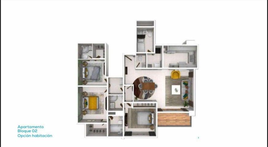 Apartamento Santo Domingo>Distrito Nacional>Naco - Venta:234.800 Dolares - codigo: 22-318