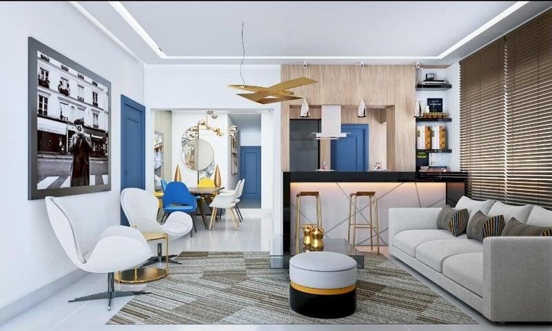 Apartamento Santo Domingo>Distrito Nacional>Buenos Aires del Mirador - Venta:135.000 Dolares - codigo: 22-371