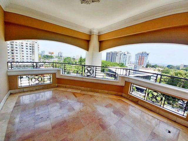 Apartamento Santo Domingo>Distrito Nacional>Bella Vista - Alquiler:1.500 Dolares - codigo: 22-382