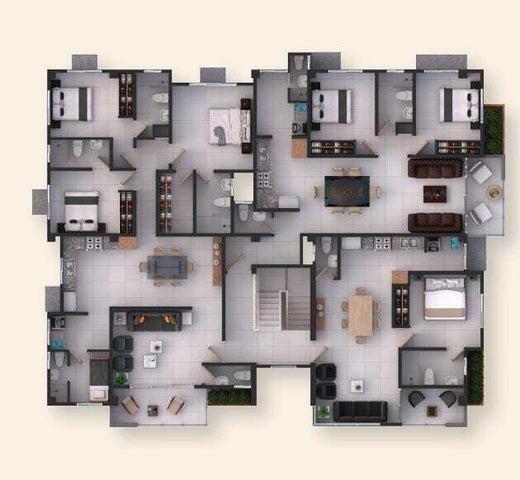 Apartamento Santo Domingo>Distrito Nacional>El Cacique - Venta:113.240 Dolares - codigo: 22-389