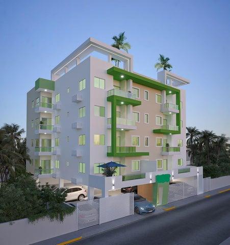 Apartamento Santo Domingo>Distrito Nacional>El Cacique - Venta:98.100 Dolares - codigo: 22-400