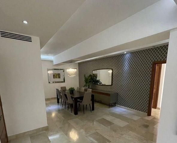 Apartamento Santo Domingo>Distrito Nacional>Piantini - Alquiler:3.300 Dolares - codigo: 22-407