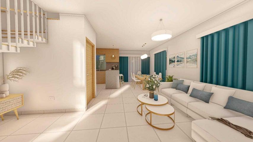 Casa La Altagracia>Punta Cana>Bavaro - Venta:105.000 Dolares - codigo: 22-414