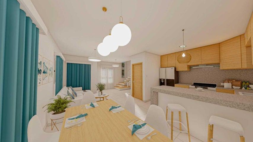 Casa La Altagracia>Punta Cana>Bavaro - Venta:105.000 Dolares - codigo: 22-415