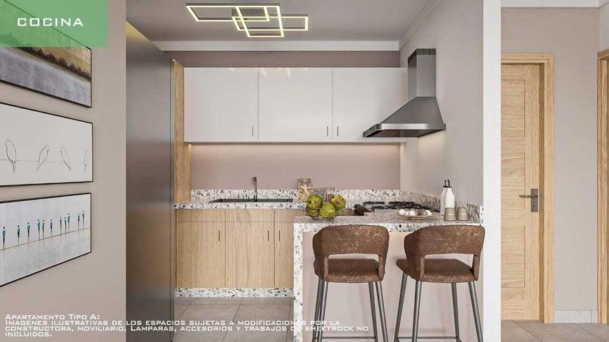 Apartamento Santo Domingo>Distrito Nacional>El Cacique - Venta:116.000 Dolares - codigo: 22-293
