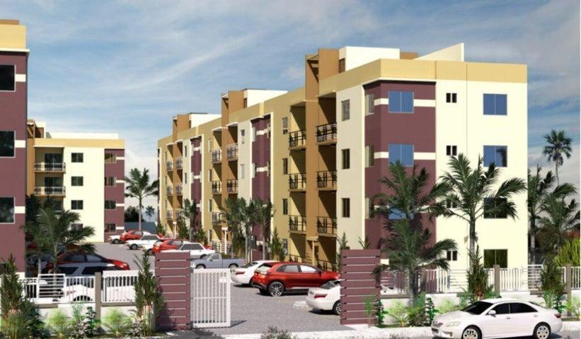 Apartamento Santo Domingo>Santo domingo Este>Las Americas - Venta:58.000 Dolares - codigo: 22-540
