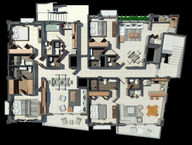 Apartamento Santo Domingo>Distrito Nacional>Renacimiento - Venta:89.100 Dolares - codigo: 22-548