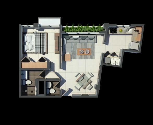 Apartamento Santo Domingo>Distrito Nacional>Renacimiento - Venta:95.640 Dolares - codigo: 22-549