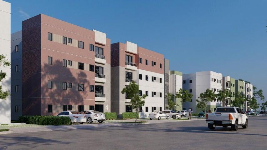 Apartamento Santo Domingo>Santo Domingo Oeste>Av Prolongacion 27 de Febrero - Venta:2.455.315 Pesos - codigo: 22-489
