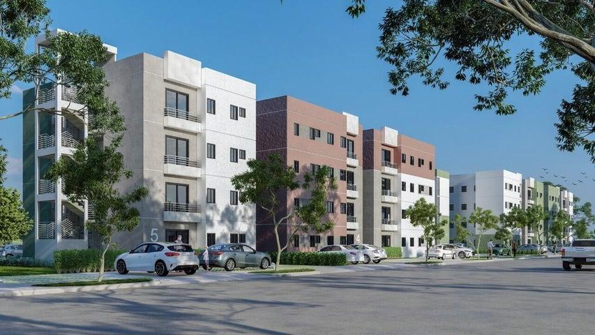 Apartamento Santo Domingo>Santo Domingo Oeste>Av Prolongacion 27 de Febrero - Venta:2.453.390 Pesos - codigo: 22-494