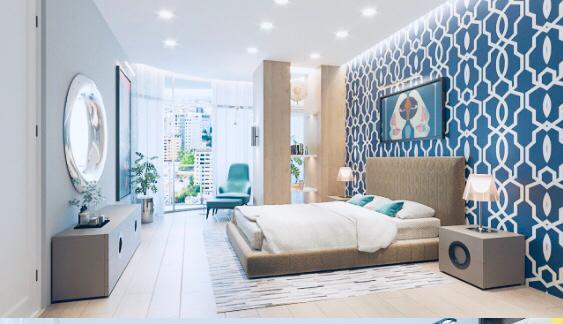 Apartamento Santo Domingo>Distrito Nacional>Piantini - Venta:274.000 Dolares - codigo: 22-568