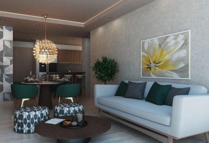 Apartamento Santo Domingo>Distrito Nacional>Mirador Norte - Venta:119.700 Dolares - codigo: 22-575