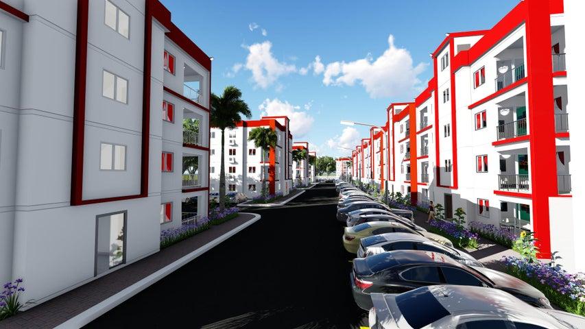 Apartamento San Cristobal>San Cristobal>Bajos de Haina - Venta:56.975 Dolares - codigo: 22-578