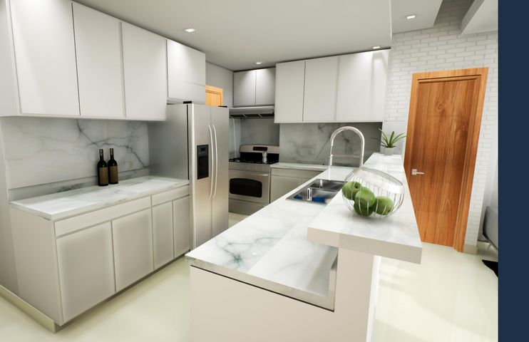 Apartamento Santo Domingo>Distrito Nacional>Gazcue - Venta:180.000 Dolares - codigo: 22-581